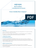 AQUAJAL- Water Purifiers_Product Brochure
