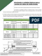Instruções de Padronização - Preparação de Pontas