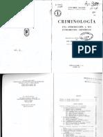 Introducción a Las Criminologia GÜNTHER