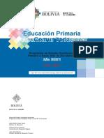 Planes Program as Pri Maria 2021