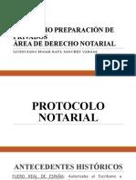 7. Protocolo Notarial