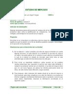 ESTUDIO de MERCADO Ciencias Politicas