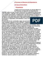 Apoyo Domiciliario