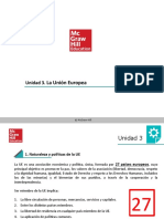 GDJE - UD 3 - La Union Europea