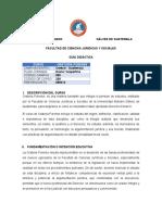 050-228 Oratoria Forense, Guía 2021