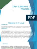 Teoria Elemental de Probabilidad