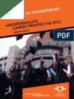 University of Johannesburg Career Prospectus ENGLISH - 2012