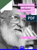 E-book Paulo Freire Tempos Fake News 2020