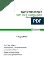 Seminário Eletrotécnica - Transformadores