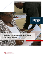 Modules on Sustainable Agriculture