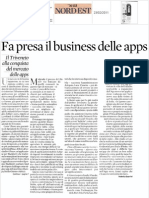 Il business delle App per smartphone in Triveneto
