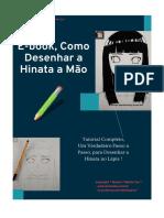 E-book Desenhando a Hinata a Mão - Mestre Toy