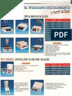 Weighing Machines Catalog