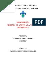 CASTRO FERNANDO - SISTEMA DE APOYO A LA TOMA DE DECISIONES