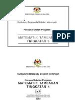 Matematik - Matematik Tambahan Tingkatan 4