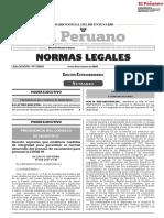 Decreto supremo que establece medidas de integridad para garantizar el normal desarrollo del proceso de vacunación para prevenir la COVID-19