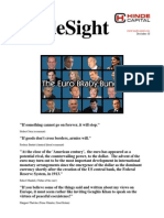 HindeSight Investor Letter December 2010 The Euro Brady Bunch