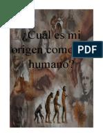 Cuál Es Mi Origen Como Ser Humano2 - Copia