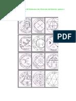 36 Pantáculos das Clavículas de Salomão