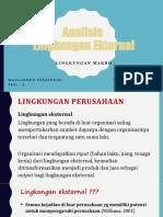 Sesi 6 Analisis Lingkungan Ekternal Makr