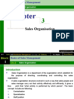 Chapter 3 Sales ion -Sales and Distribution Management