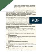 Doctrinas y teorias sociologicas - Pasar limpio
