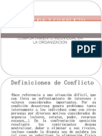 FRUSTRACION Y CONFLICTO