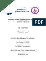 Presion de vapor (Lopez Delgado)
