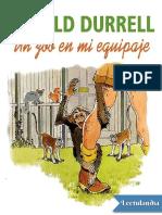 Un Zoo en Mi Equipaje - Gerald Durrell
