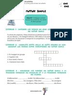 Fiche conjugaison CM1-CM2 - Futur Simple