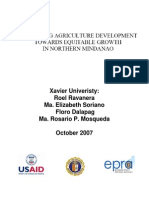 Localizing Agri Development Towards Equitable Growth in Northern Mindanao