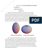 tugas GIS (Spheroid)