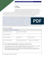 IA-AINP Family Sponsorship Affidavit