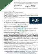 GUÍA DE APRENDIZAJE 9 PRIMER PERÍODO COLEGIO SAN PIO X