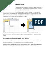Listas personalizadas - 6 páginas