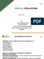 Environmental Pollution Evs