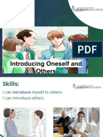 Skill 1 - Introducing Oneself and Others - Converted