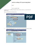 Step by Step PO Smartform