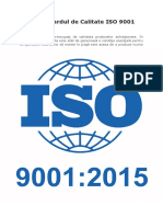 Standardul de Calitate ISO 9001