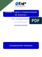 APS1 - Aula 5 - Elicitação de Requisitos