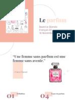 Le parfum Beatrice Biondo