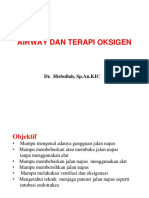 3. dr. Hisbullah - Airway & Oxygen Therapy