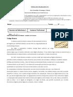 STC5 - DR3+DR4 - Ficha de Trabalho n1 Cod Binario