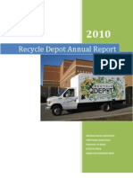 Recycle Depot - 2010 Annual Report