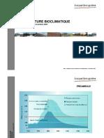 Conf_Architecture bioclimatique_presentation_141107
