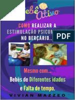 Como Realizar Estimulação Psicomotora No Bercario Por Bebê Ativo