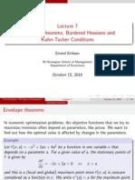 envelope theorem