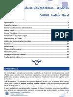 Ebook - Auditor Fiscal - SEFAZ-ES