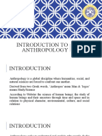 01. Introduction to Anthropology