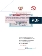 RAPPORT DU DEUXIEME SUIVI POST FORMATION ZS DE KINGANDU PROJET CARAMAL Dr Albert KADJUNGA